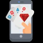 Popularität von Online-Casinos auf iPhone