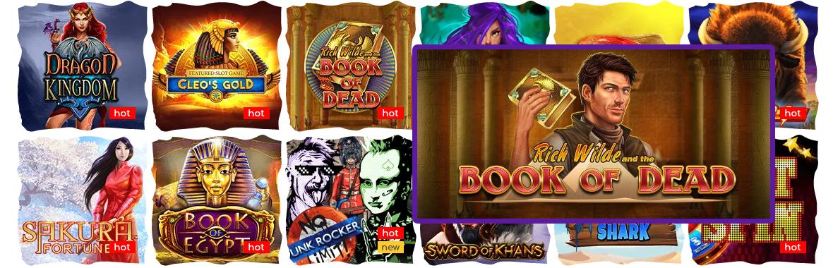 Spielautomaten Book of Dead