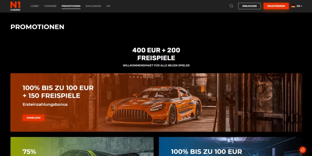 Promotionen N1 Casino
